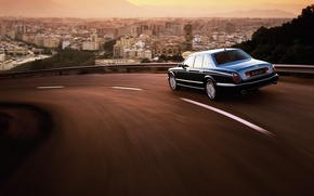 Wallpaper the city, Bentley, Arnage, turn