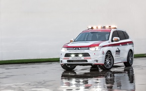Wallpaper Mitsubishi, Mitsubishi, crossover, Safety Car, Outlander, Outlander