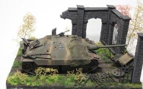 "Picture toy, installation, self-propelled, artillery, model, easy, Hetzer, ""Hettser, Jagdpanzer 38"