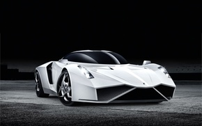 Picture auto, white, The concept