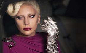 Picture dragon, Lady Gaga, cigarette, woman, American Horror Story, American horror story, smoke, girl, singer, actress, ...