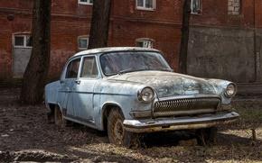 Picture machine, scrap, Volga