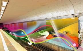 Picture line, treatment, Metro