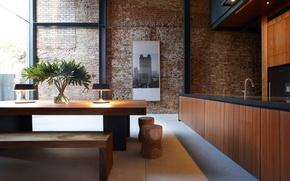 Picture design, interior, kitchen.furniture