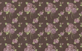 Wallpaper background, roses, wallpaper, ornament, vintage, texture, floral, pattern, paper, floral