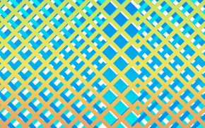 Picture line, blue, square, crap