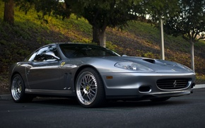 Picture sports, double, tuning, drives, car, Shine, Ferrari 575 Maranello