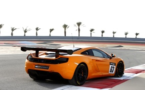 Picture machine, auto, McLaren, supercar, MP4-12C, back, Sprint
