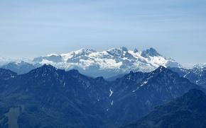 Wallpaper Mountains, snow, glacier