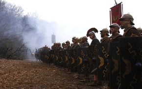 Picture army, Rome, HBO, Centurion Lucius Vorenus, legionaries, legio, legionary, TV series