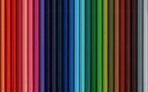 Picture background, pencils, colorful