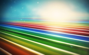 Picture line, colorful, lines, render, abstraction, links