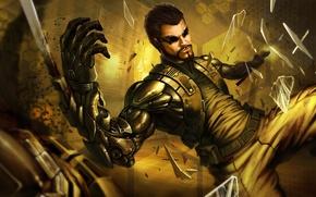 Wallpaper Adam Jensen, game, the game, Deus Ex Mankind Divided, Adam Jensen
