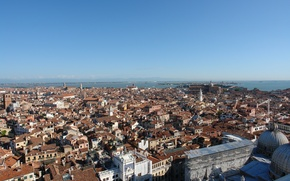 Picture building, Italy, panorama, Venice, Italy, panorama, Venice, Italia, Venice