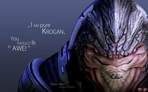 Picture Mass Effect, krogan, Grunt