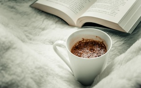 Picture mug, Cup, book, page