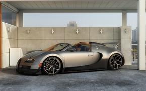 Picture machine, graphics, art, Bugatti, Grand, Veyron, supercar, Sport, Vitesse, dangeruss