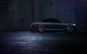 Picture Mercedes-Benz, Dark, California, Side, Motorsport, Sonic, E63, Ligth, Nigth, AMG S