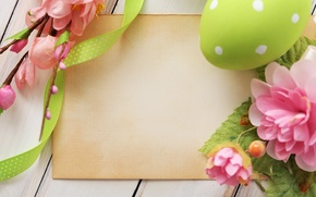Wallpaper flowers, eggs, Easter, Easter, in the spring