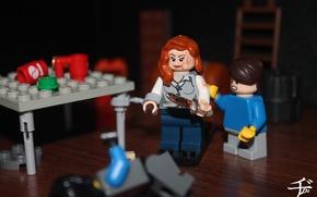 Picture LEGO, lego, Bates Motel, The Bates Motel