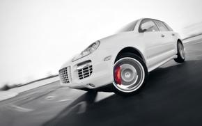 Picture Auto, White, Porsche, Tuning, Speed, Turn, Machine, Cayenne