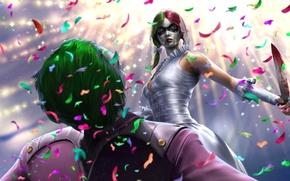 Picture Joker, Joker, Harley Quinn, DC Comics, Harley Quinn
