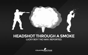 Picture game, smoke, counter strike, csgo, fnatic, navi, counter strike global offensive, wallbang