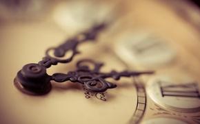 Wallpaper macro, background, time, watch