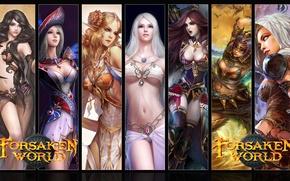 Picture Girls, MMORPG, Forsaken World