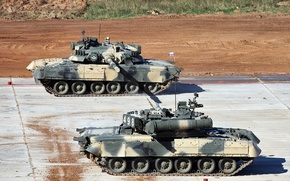 Picture T-80U, tank biathlon 2013, main battle tank Russia