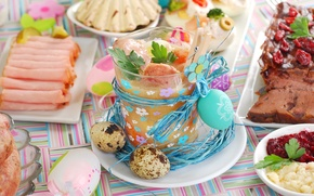 Picture food, eggs, Easter, Easter eggs
