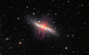 Picture galaxy, M82, Servicer, Cigar