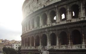 Picture I love, sunshine, Rome
