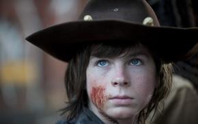 Picture portrait, The Walking Dead, Chandler Riggs