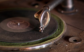 Wallpaper music, vinyl, record player