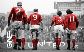 Picture Manchester United, Manchester United, George Best, ONE UNITED, Sir Bobby Charlton, Sir Bobby Charlton, George …