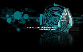 Picture headphones, vocaloid, Vocaloid, miku hatsune, Miku Hatsune