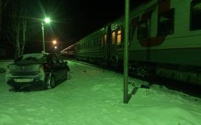 Picture #train, #farewell, #car