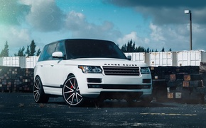 Picture car, tuning, jeep, SUV, range rover