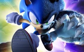 Wallpaper Sonic, Hedgehog, Evil
