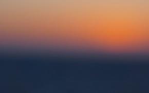 Picture twilight, sea, ocean, sunset, dusk
