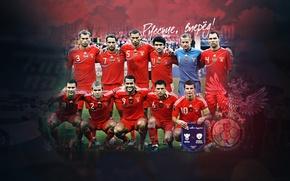 Wallpaper Football, Team Russia, RFU