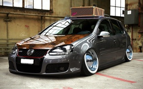 Wallpaper tuning, golf, gti, wolksvagen