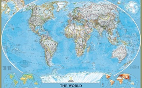 Picture the world, map, policy, map, political, the world