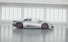 Picture Lamborghini, Tuning, Supercar, Wheelsandmore, Side, Tuning, Supercar, Silver, Huracan, Huracan, Silver, LP850-4, Side Lamborghini, Lucifer