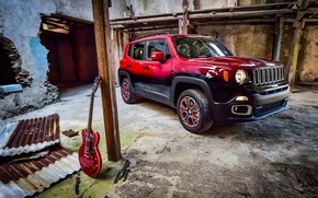 Picture jeep, Jeep, 2015, Renegade, renegade, Garage Italia Customs, Montreux Jazz Festival Showcar