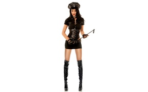 Picture model, boots, brunette, uniform