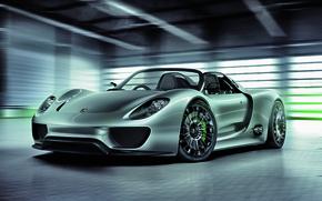 Wallpaper Concept, Porsche, Spyder, 3544 x 2506, 918
