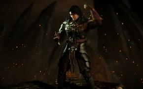 Picture dark, Liu Kang, Mortal Kombat X, revenant, emperor, mkx