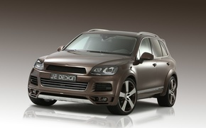 Picture Volkswagen, Touareg, Tuning, Brown, I Design
